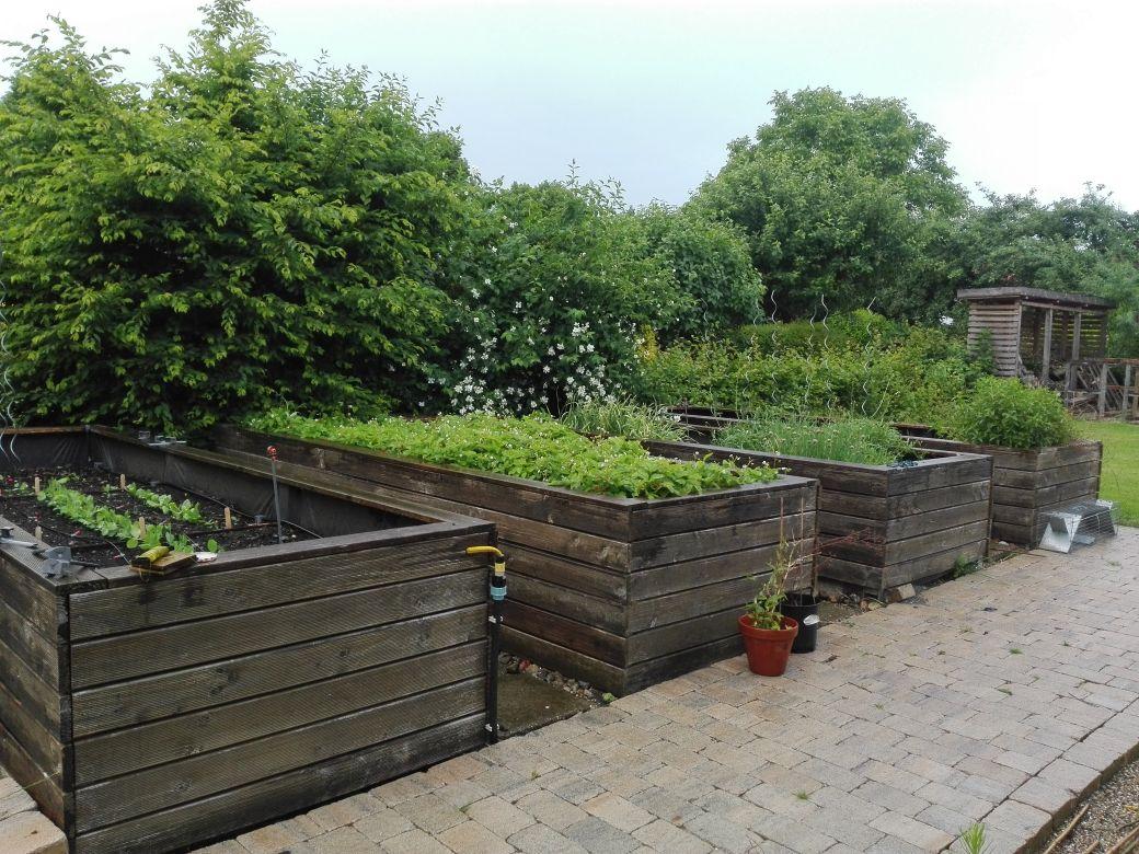 Garten Hochbeete