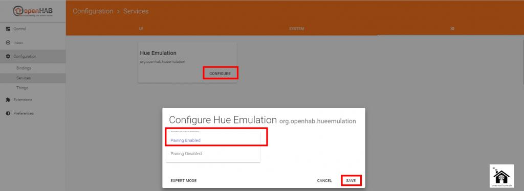 Smart-Home-openHAB-2-KNX-Alexa-Speech-Recognition-Hue-Emulation-Enable