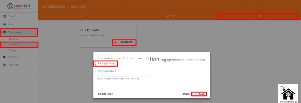 openHAB2-Designer-Sprachsteuerung