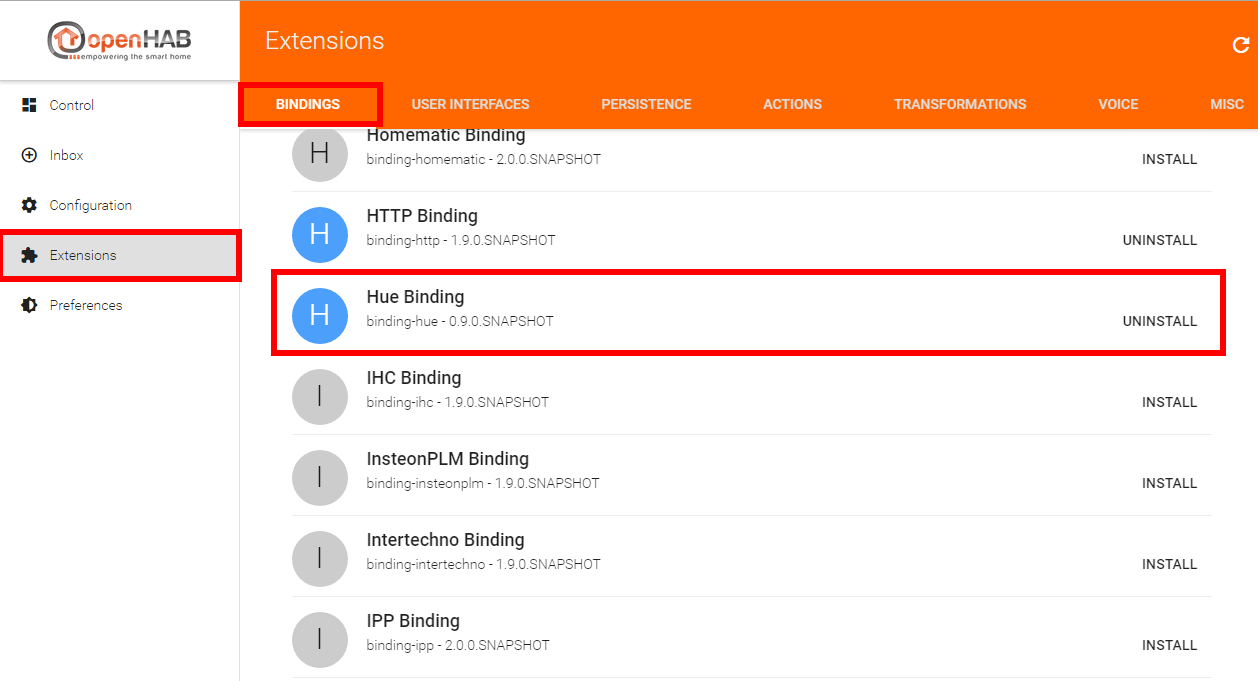 openHAB2-HTTP-Binding