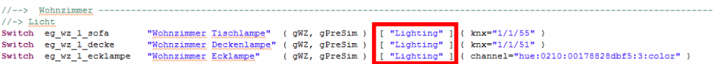 openHAB2-Sprachsteuerung-Hue-Emulation-Item-Configuration