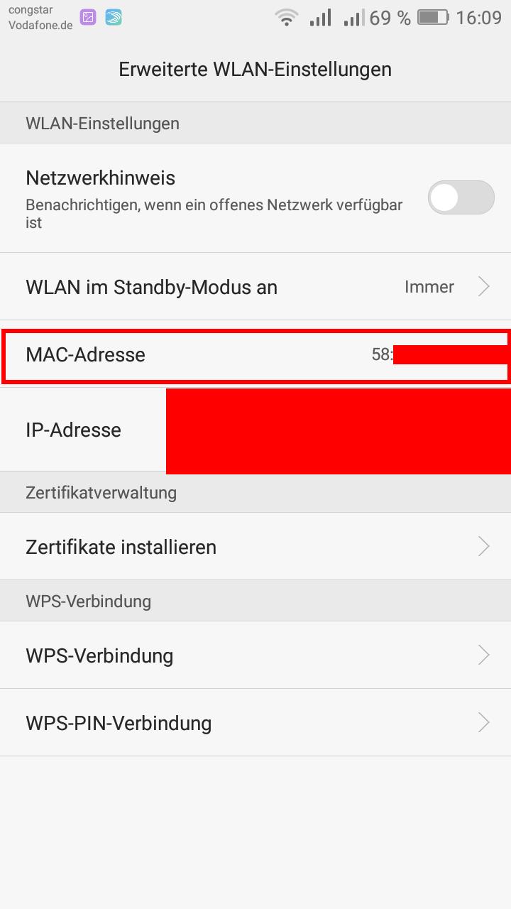 openHAB-2-Anwesenheitserkennung-Handy-MACAdresse