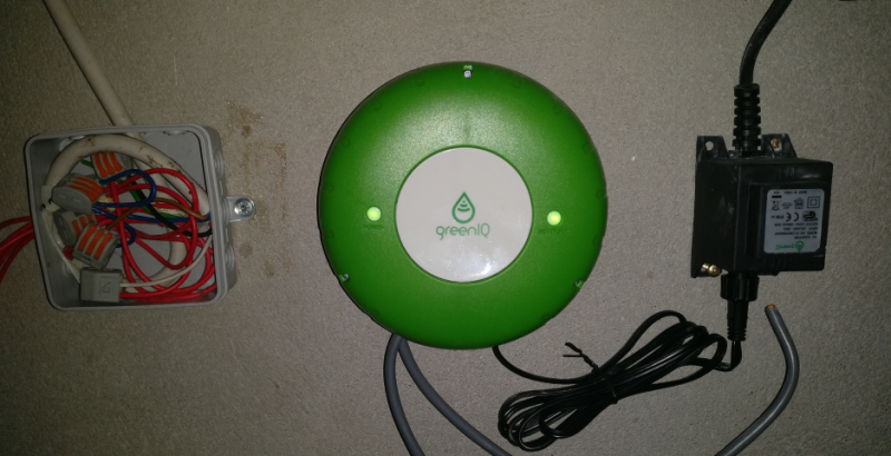 GreenIQ Smart Garden Hub - Wandinstallation