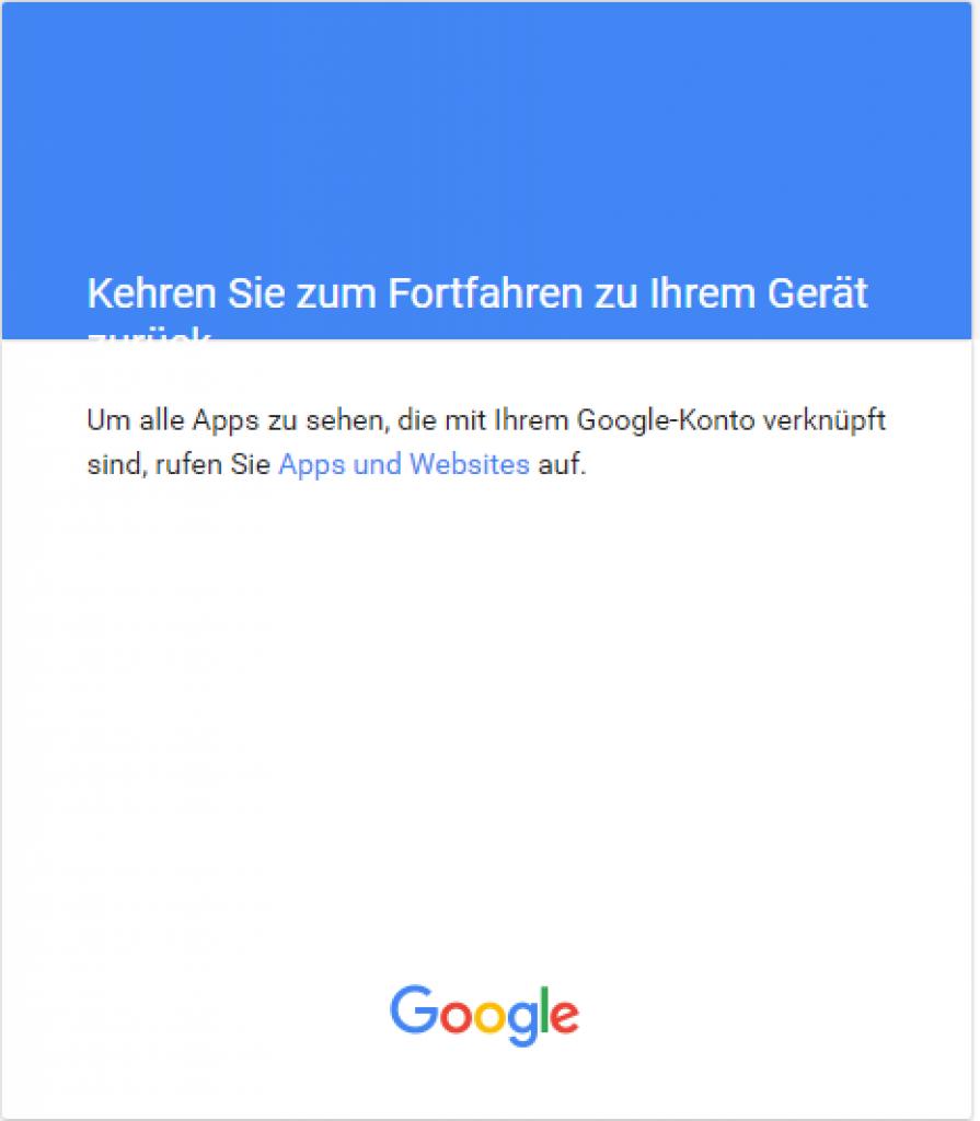 Smart-Home-openHAB-2-Google-Calendar-Gerät-autorisiert