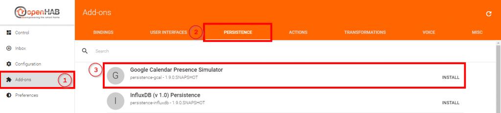 Smart-Home-openHAB-2-Google-Calendar-Presence-Simulator