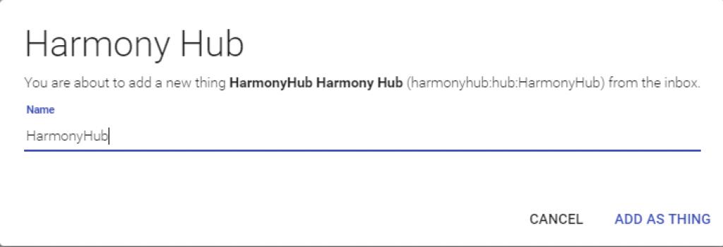 Smart-Home-openHAB-2-Harmony-Hub-Binding-Thing-2
