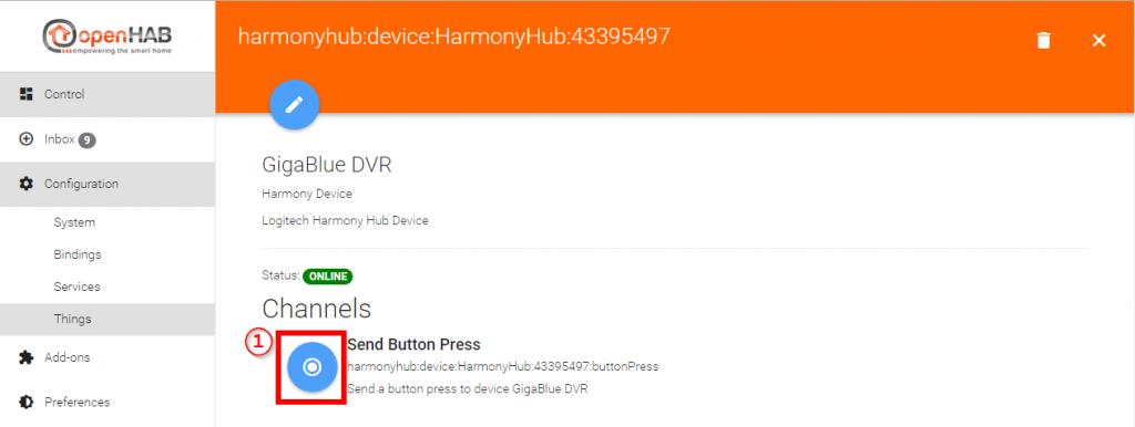 Smart-Home-openHAB-2-Harmony-Hub-Binding-Thing-Channel