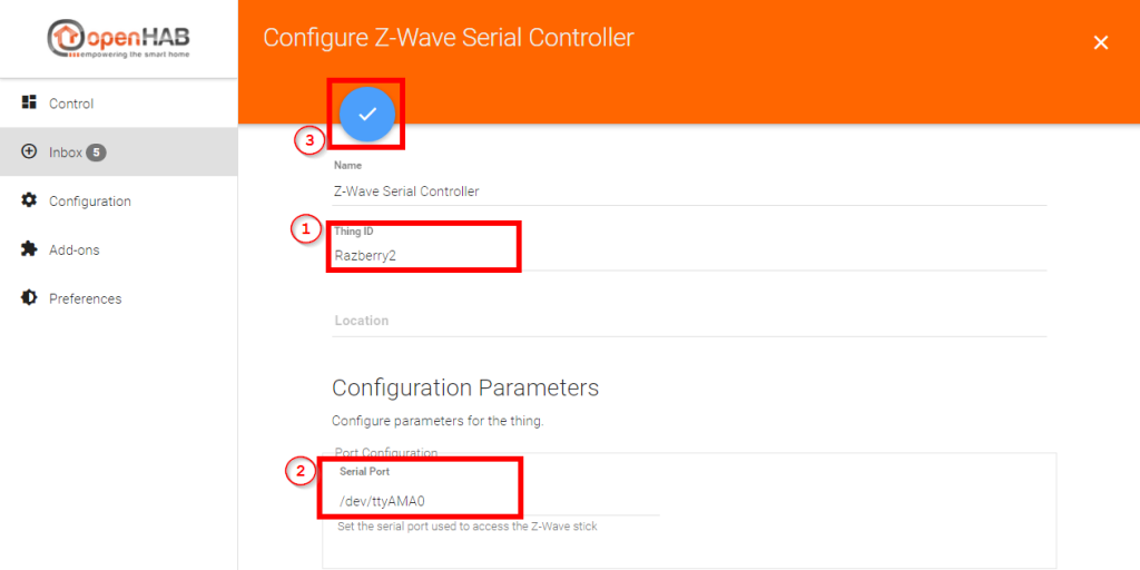 Smart-Home-openHAB-2-Z-Wave-Serial-Controller-Setting