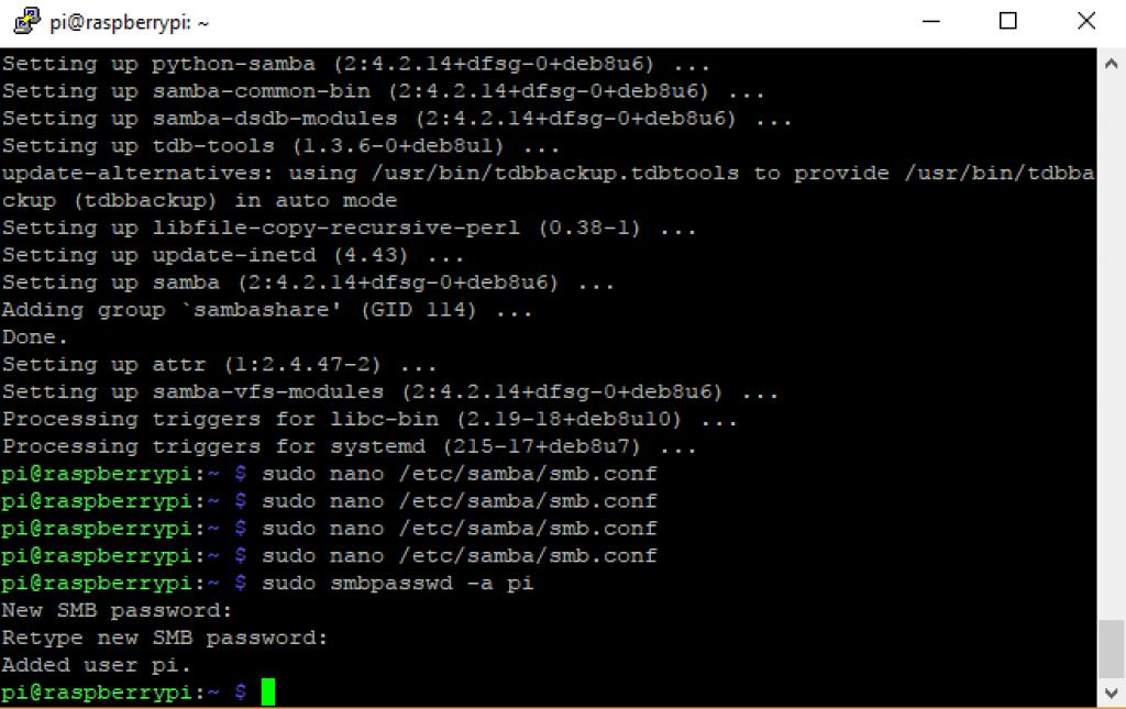 Smart-Home-Home-Assistant-Raspberry-Pi-Installation-Samba-User