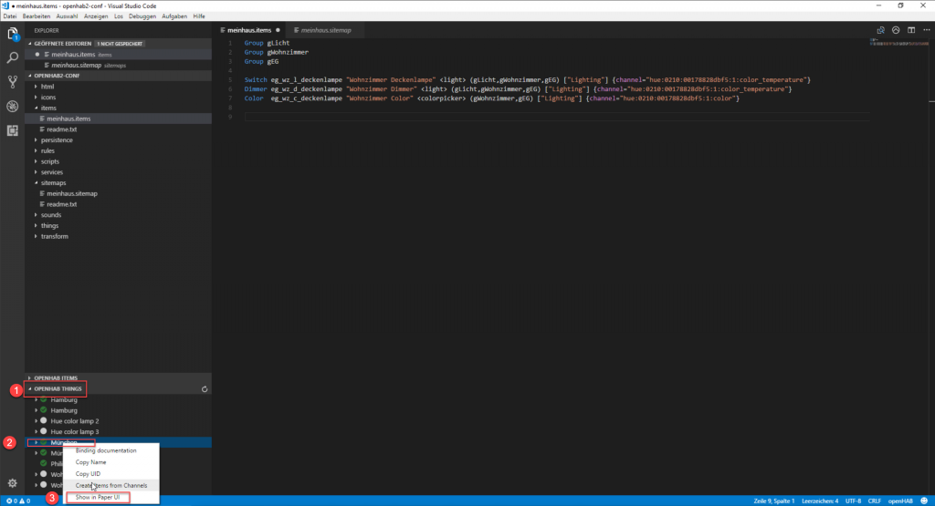 openHAB-Visual-Studio-Code-Paper-UI-1