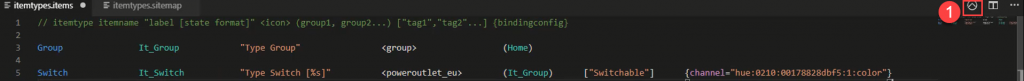 openHAB-VS-Code-Basic-UI