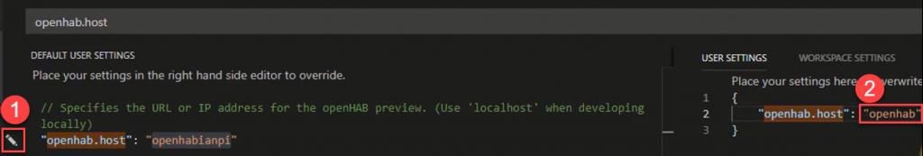 openHAB-VS-Code-Host