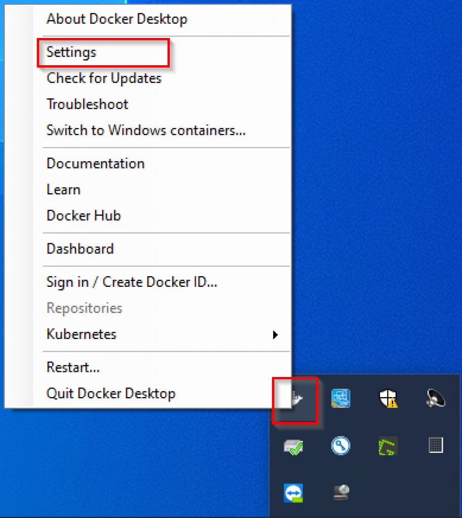 Window-10-Docker-Settings