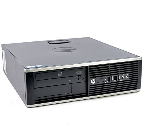 HP EliteDesk 8300 SFF Intel Core i7 240GB SSD (NEU) Festplatte 8GB Speicher Win 10 Pro DVD Brenner H5S02ET Small Form Factor Mini PC Computer (Generalüberholt)