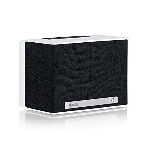 Raumfeld One S Mini-WLAN-Lautsprecher weiß (Streaming, WLAN, Spotify, kabellos, Multiroom, App, drahtlos)