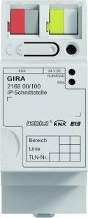 Gira 216800 IP Schnittstelle KNX Einflächenbedienung REG